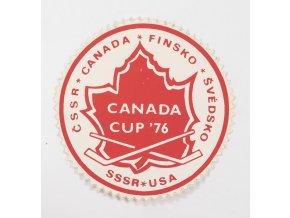Samolepka 1976, Hokej, Canada Cup 76