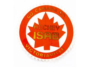 Samolepka Go, Canada, Go. Victoriaville. Hockey ISAB