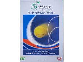 Program, Fed Cup , Česká republika v. Rusko, 2003