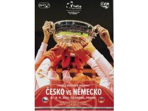 Oficiální program Fed Cup finále, Czech Republic v. Německo 2014