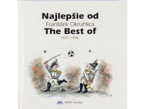 Kniha Najlepšie od F. Okruhlica, humor, věnování J. Masopustovi (1)