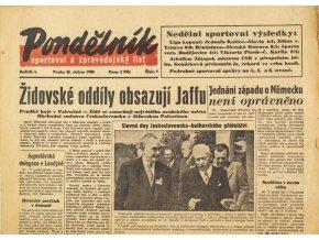 Noviny, Pondělník, č. 9, 1946 (1)