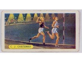 Kartička sběratelská, C. J. Chataway (1)