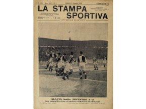 Časopis La Stampa Sprtiva, Slavia batte Juventus 32, 1926 (1)