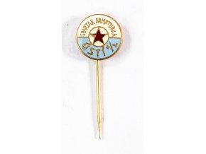 Odznak Spartak armaturka Ústí n. Labem 1