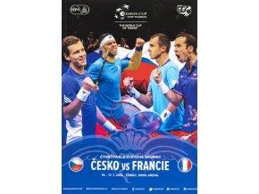 Oficiální program , Czech Republic v. France 2016