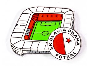 Odznak stadion EDEN Slavia