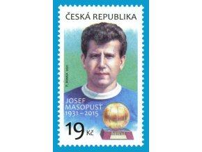 Známka Josef Masopust, 1931 2015