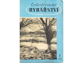 Časopis Československé Rybářství, 21959