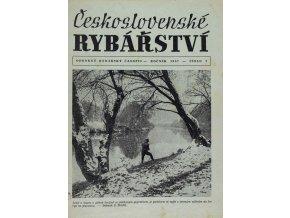Časopis Československé Rybářství, 21957