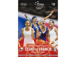 Oficiální program , Fed Cup, Czech Republic v. France 2015