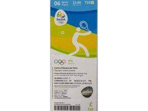 Vstupenka OG Rio 2016, Tennis (2)