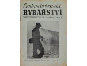 Časopis Československé Rybářství, 101957