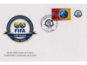 FDC 100 Years FIFA, 1904 2004