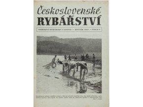 Časopis Československé Rybářství, 91957
