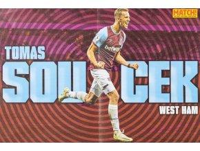 Plakát MATCH, Tomas Soucek, West Ham (1)