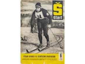 Časopis ŠTART, ročník X, 11. II. 1965, číslo 6