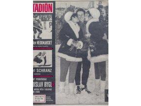 Časopis STADION, ročník XVIII. 26.II.1970, číslo 9