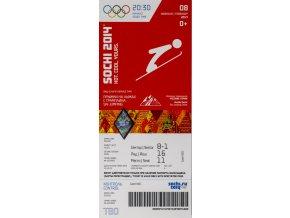 Vstupenka OG Sochi, 2014, Ski jumping