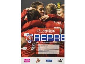 Program fotbal , Česká rep. v. Arménie, 2013