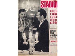 Časopis STADION, ročník XVII. 23.I.1969, číslo 4