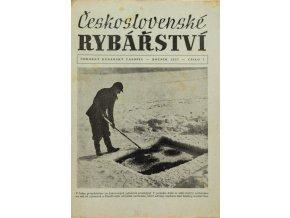 Časopis Československé Rybářství, 11957