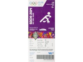 Vstupenka OG Sochi, 2014, Ice hockey 12