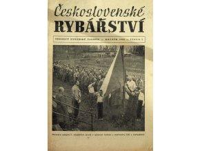 Časopis Československé Rybářství, 71956