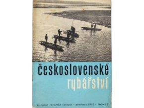 Časopis Československé Rybářství, 121960