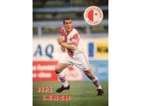 Plakát Jiří LERCH, Slavia Praha