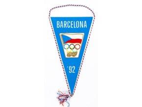 Klubová vlajka OH, Barcelona 1992. ČSFR