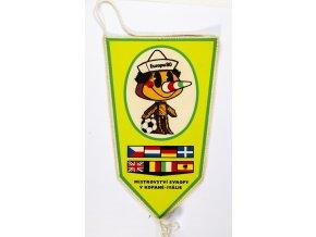 Vlajka klubová MS Europa 1980, kopaná II (1)
