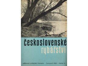 Časopis Československé Rybářství, 111961