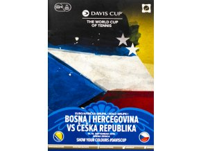 Official Program Davis Cup, Bosna i Hercegovina v. Czech rep., 2019