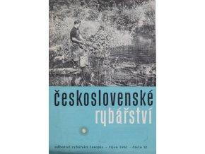 Časopis Československé Rybářství, 101961