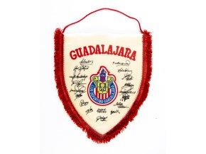 Klubová vlajka Guadalajara