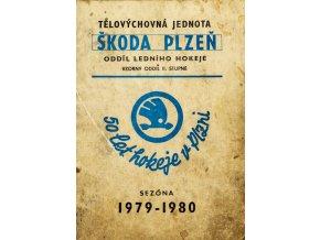 Ročenka TJ Škoda Plzeň, hokej, 1979 1980