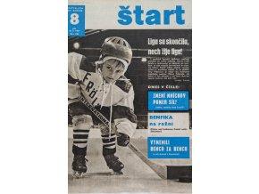 Časopis ŠTART, ročník XIV, 20. II. 1969, číslo 8