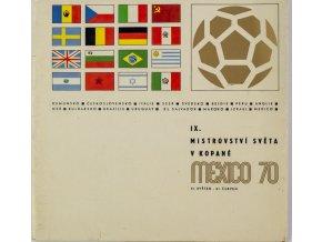 Publikace, IX. MS v kopané, Mexico, 1970 (1)