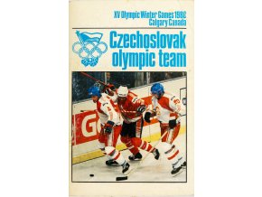 Publikace, XV. Olympic games, Czechoslovak team, Calgary, 1988