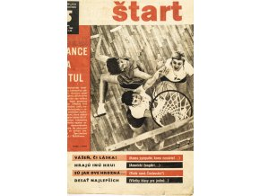 Časopis ŠTART, ročník XIV, 30. VI. 1969, číslo 5