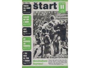 Časopis ŠTART, ročník XIV, 13. III. 1969, číslo 2