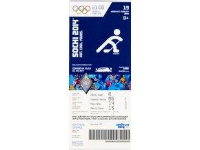 Vstupenka OG Sochi, 2014, Ice Hockey, 19