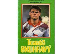 Kniha Galerie slavných sportovců, Tomáš Skuhravý