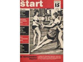 Časopis ŠTART, ročník XIV, 10. IV. 1969, číslo 15