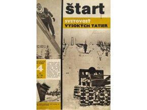 Časopis ŠTART, ročník XIV, 25. I. 1968, číslo 4