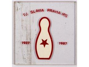 Propagační předmět, TJ Slavia Praha IPS, Kuželky 1937 1987