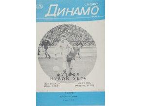 Program Dinamo Kiev v. Banik Ostrava, 1979