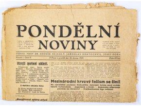 Pondělní noviny, 16. VI. 1924, č. 8 (1)