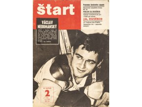 Časopis ŠTART, ročník XII, 12 I. 1967, číslo 2